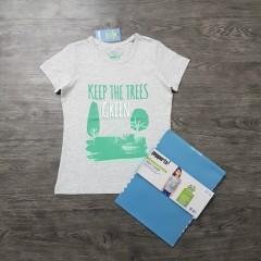 PEPPERTS Girls T-Shirt (GRAY) (6 to 14 Years)