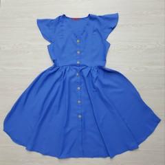 RED QUEEN Ladies Turkey Dress (BLUE) (S - M - L - XL)