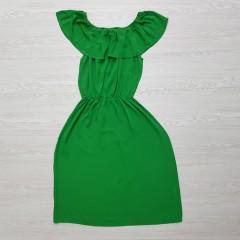 BLUE Ladies Turkey Dress (GREEN) (S - M - L)