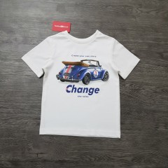 Boys T-Shirt (WHITE) (5 to 10 Years)