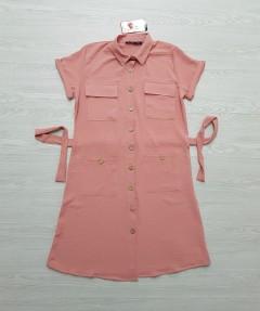 ROY FASHION Ladies Turkey Dress (PINK) (S - M - L - XL)