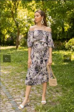 ROY FASHION Ladies Turkey Dress (MULTI COLOR) (S - M - L - XL)