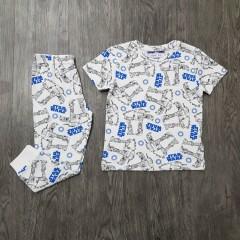 NEXT Boys 2 Pcs Pyjama Set (WHITE) (2 to 8 Years)