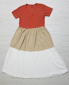 RED QUEEN Ladies Turkey Dress (PINK - CREAM - WHITE) (S - M - L)