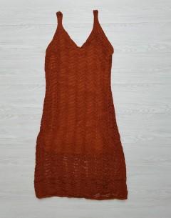 GENERIC Ladies Turkey Long Dress (BROWN) (FREE SIZE)