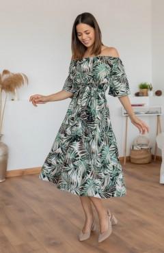 ROY FASHION Ladies Turkey Dress (GREEN) (S - M - L - XL)
