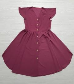 RED QUEEN Ladies Turkey Dress (PURPLE) (S - M - L)