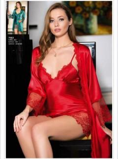 AHU Ladies Turkey 2 Pcs Lingerie Set (RED) (S - M - L - XL)