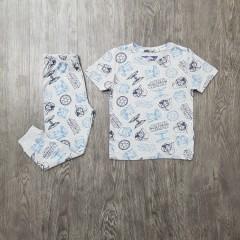NEXT. 82 Boys 2 Pcs Pyjama Set ( GRAY ) (2 to 8 Years)