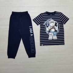 NINJAGO Boys 2 Pcs Pyjama Set (NAVY-WHITE) (5 To 12 Years)