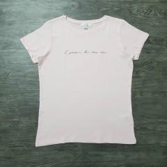 AMISO Ladies T-shirt(LIGHT PINK)( XS - S - M- L - XL -XXL)