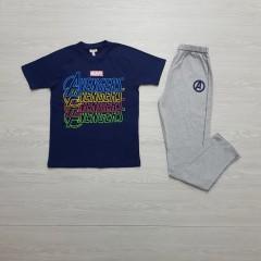 AVENGERS Boys 2 Pcs Pyjama Set ( NAVY - GRAY ) (8 to 14 Years)
