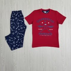 HARRY POTTER Boys 2 Pcs Pyjama Set ( RED -  NAVY ) (8 to 14 Years)