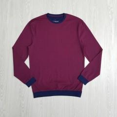 Mens Sleeved Shirt (MAROON) (S- M - L - XL)