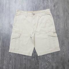 UNIONBAY Mens Cargo Shorts (CREAM) (30 to 40 EURO)