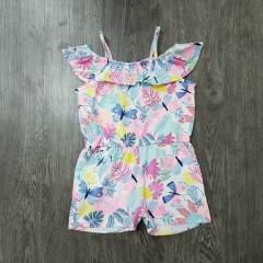 IN EXTENSO Girls Romper (MULTI COLOR) (3 to 14 Years)