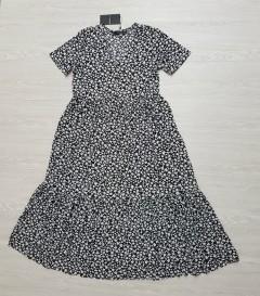 SFERA Ladies Dress (BLACK - WHITE) (S - M - L)