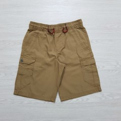 PLUGG Boys Shorty  (BROWN) (S - M - L - XL)