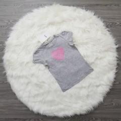 LH Girls T-Shirt (GRAY) (3 to 10 Years)