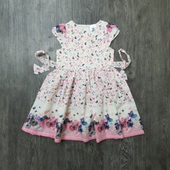 GENERIC Girls Dress (MULTI COLOR) (3 to 8 Years)
