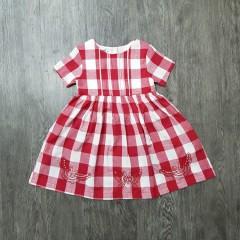 SOUL TAU Girls Dress (RED) (2 to 10 Years)