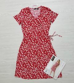 UP 2 FASHION Ladies Dress (RED) (36 to 44 EUR)
