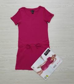 UP 2 FASHION Ladies Dress (PINK) (34 to 44 EUR)