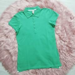 PIAZAITALIA Ladies Polo Shirt (GREEN) (L - XL)