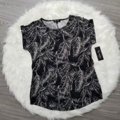 LILI MAGAN Ladies Top (BLACK - white) (S - M - L - XL - xxl)