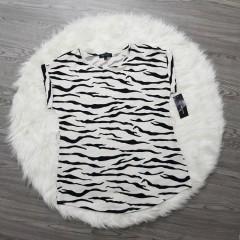 LILI MAGAN Ladies Top (WHITE - BLACK) (S - M - XL - L - XXL - 3XL)