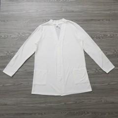 LILI MAGAN Ladies Shirt (WHITE) (S - M - L - XL)