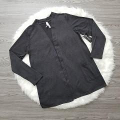 LILI MAGAN Ladies Shirt (DARK GRAY) (M - L - XL - XXL)