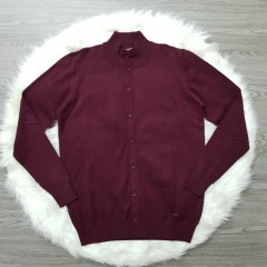 MATCH Mens Sweater (MAROON) (S - M - L - XL - XXL - 3XL)