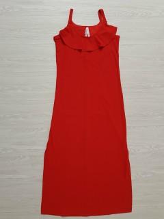 FRENCH TWIST Ladies Long Top (RED) (S - M - L - XL - XXL - 3XL)