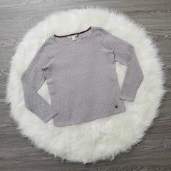 SPRIT ORGANIC Ladies Sweater (GRAY) (XS - S - M - L - XL - XXL)
