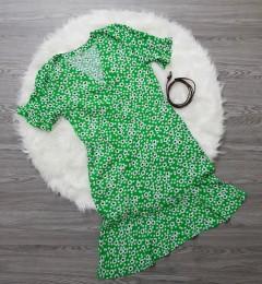 HEMA Ladies Dress (GREEN) (S - M - XL)