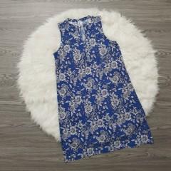 FRENCH TWIST Ladies Top (BLUE) (S - M - L - XL)