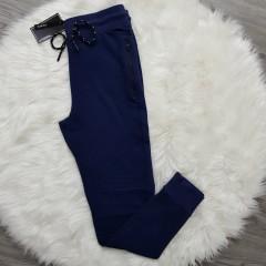 MRG FASHION Mens Slim Fit Pants (NAVY) (M - L - XL - XXL)