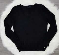 INSTINCT Ladies Sweater (BLACK) (XS -S - M - L - XL)