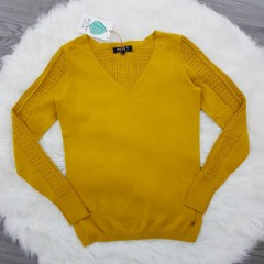 INSTINCT Ladies Sweater (YELLOW) (XS -S - M - L - XL)