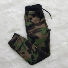 WONDER NATION Boys Pants (ARMY) (4 to 12 Years)