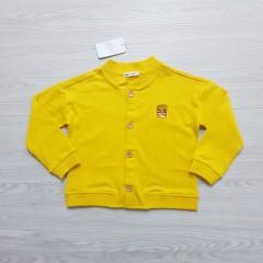 MARI SMORI Girls Sweat Shirt (YELLOW) (100 cm to 150 cm)