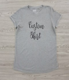 FSBN SISTER Ladies T-Shirt (GRAY) (XXS - XS - S - M - XL)