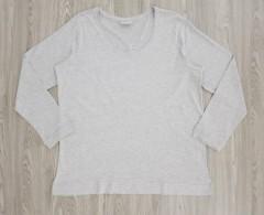 JANINA Ladies Long Sleeved Shirt (GRAY) (46 to 58 EUR)