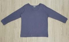 JANINA Ladies Long Sleeved Shirt (DARK BLUE) (46 to 58 EUR)