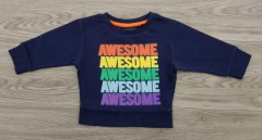 NEXT Boys Long Sleeved Shirt (NAVY) (3 Months to 7 years)