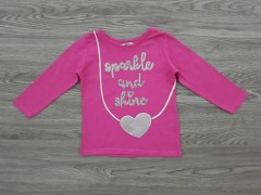 ANGEL Girls T-Shirt (PINK) (12 Month to 6 Years)