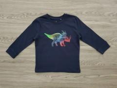 TOPOLINO Boys T-Shirt (BLACK) (98 CM to 128 CM)