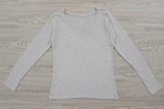 DIP Ladies Long Sleeved Shirt (GRAY) (S - M - XL - XXL)