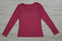 DIP Ladies Long Sleeved Shirt (MAROON) (XS - S - M - L - XL - XXL)